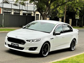 2015 Ford Falcon FG X XR6 Turbo White 6 Speed Sports Automatic Sedan.