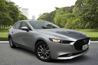 2021 Mazda 3 BP2S7A G20 SKYACTIV-Drive Pure Sonic Silver 6 Speed Sports Automatic Sedan.