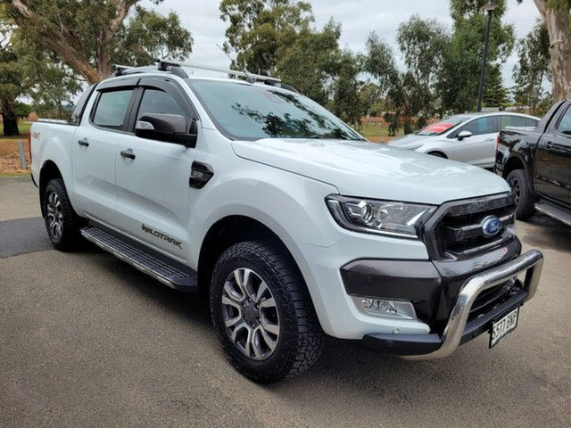 Used Ford Ranger PX MkII Wildtrak Double Cab Nuriootpa, PXII Ranger Wildtrak Cr/C P/Up 4x4 3.2L 5Cyl T/Del 6sp Atm 06/15