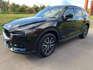 2018 Mazda CX-5 KF Series Akera Black Sports Automatic Wagon.