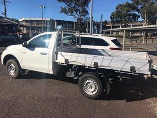 2016 Mitsubishi Triton MQ MY16 GLX 4x2 White 5 Speed Manual Cab Chassis.