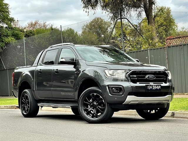 Used Ford Ranger PX MkIII 2019.00MY Wildtrak Hyde Park, 2018 Ford Ranger PX MkIII 2019.00MY Wildtrak Grey 10 Speed Sports Automatic Utility