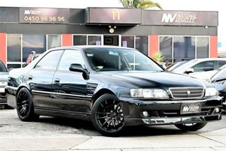 1998 Toyota Chaser JZX100 Tourer V Green 4 Speed Automatic Sedan.