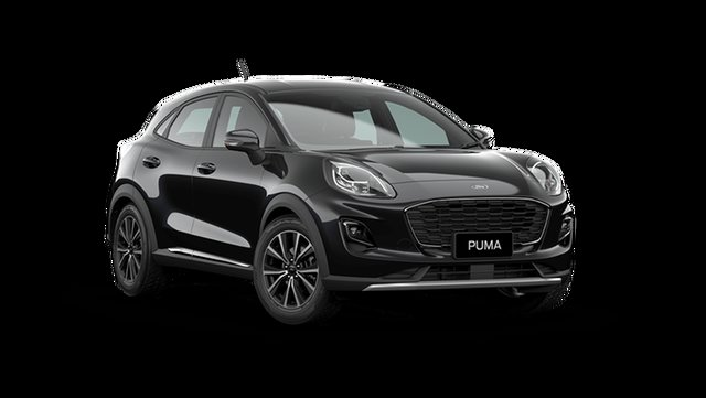 Demo Ford Puma JK 2021.25MY Puma Rutherford, 2021 Ford Puma JK 2021.25MY Puma Agate Black 7 Speed Sports Automatic Dual Clutch Wagon