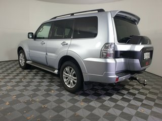 2015 Mitsubishi Pajero NX MY15 GLX Cool Silver 5 Speed Sports Automatic Wagon