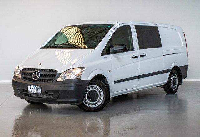 Used Mercedes-Benz Vito 639 MY14 113CDI LWB Thomastown, 2014 Mercedes-Benz Vito 639 MY14 113CDI LWB White 5 Speed Automatic Van