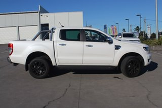 2020 Ford Ranger PX MkIII 2021.25MY XLT Alabaster White 10 Speed Sports Automatic Double Cab Pick Up.