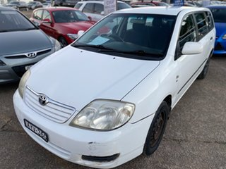 2006 Toyota Corolla ZZE122R 5Y Ascent White 4 Speed Automatic Wagon.