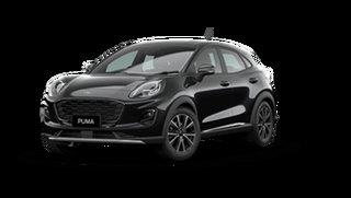 2021 Ford Puma JK 2021.25MY Puma Agate Black 7 Speed Sports Automatic Dual Clutch Wagon