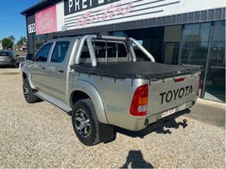 2008 Toyota Hilux KUN26R 08 Upgrade SR (4x4) Silver 5 Speed Manual Dual Cab Chassis