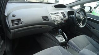2009 Honda Civic 8th Gen MY09 VTi-L Black 5 Speed Automatic Sedan.