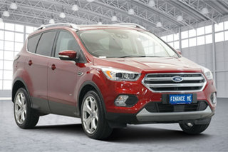 2017 Ford Escape ZG Titanium Ruby Red 6 Speed Sports Automatic SUV.