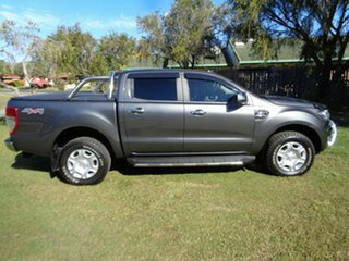 2017 Ford Ranger PX MkII 2018.00MY XLT Double Cab Grey 6 Speed Sports Automatic Utility.