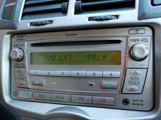 2009 Toyota Yaris NCP90R MY10 YR Black 4 Speed Automatic Hatchback