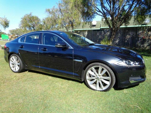 Used Jaguar XF X250 MY12 Premium Luxury Kippa-Ring, 2012 Jaguar XF X250 MY12 Premium Luxury Black 8 Speed Sports Automatic Sedan