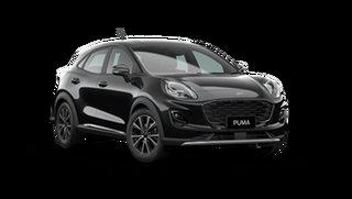 2021 Ford Puma JK 2021.25MY Puma Agate Black 7 Speed Sports Automatic Dual Clutch Wagon.