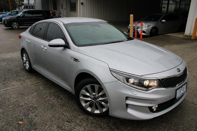 Used Kia Optima JF MY18 SI Ferntree Gully, 2018 Kia Optima JF MY18 SI Billet Silver 6 Speed Sports Automatic Sedan