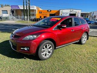 2007 Mazda CX-7 ER1031 MY07 Luxury Maroon 6 Speed Sports Automatic Wagon.