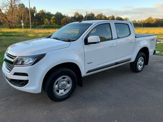 2017 Holden Colorado RG LS White Sports Automatic Utility.