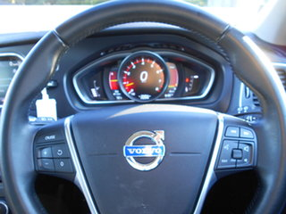 2013 Volvo V40 M Series MY14 T4 Adap Geartronic Luxury Black 6 Speed Sports Automatic Hatchback