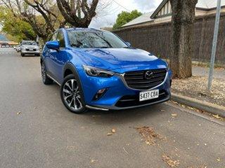 2019 Mazda CX-3 DK2W7A Akari SKYACTIV-Drive FWD Blue 6 Speed Sports Automatic Wagon.