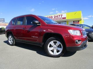 2012 Jeep Compass MK MY13 Sport Red 5 Speed Manual Wagon