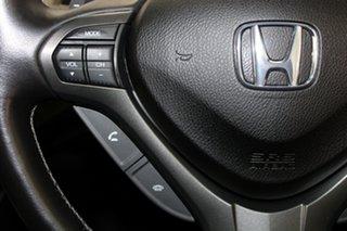 2012 Honda Accord Euro CU MY13 Luxury Navi Alabaster Silver 5 Speed Automatic Sedan