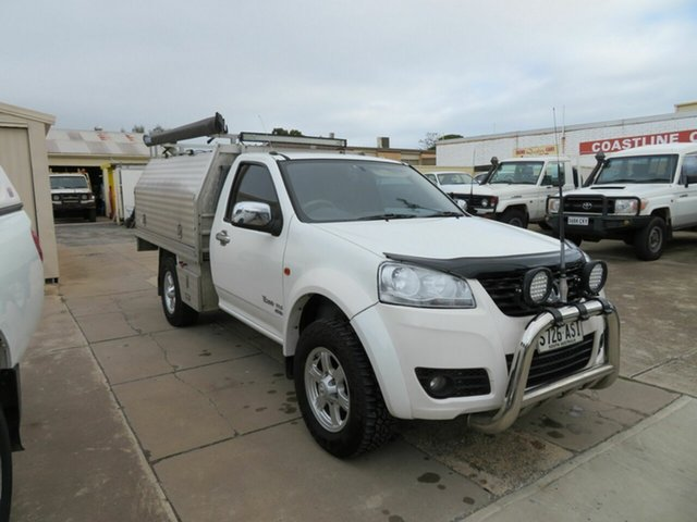 Used Great Wall V200 K2 (4x4) Morphett Vale, 2012 Great Wall V200 K2 (4x4) White 6 Speed Manual Cab Chassis