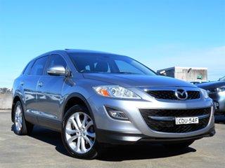 2011 Mazda CX-9 TB10A4 MY12 Luxury Grey 6 Speed Sports Automatic Wagon.
