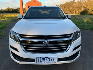 2017 Holden Colorado RG LS White Sports Automatic Utility
