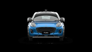 2021 Ford Puma JK 2021.25MY Puma Desert Island Blue / Black Roo 7 Speed Sports Automatic Dual Clutch