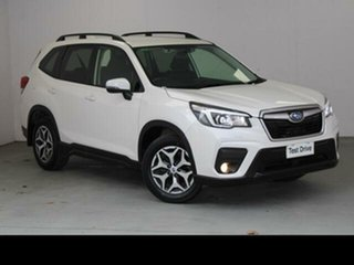 2019 Subaru Forester MY19 2.5I (AWD) Crystal White Pearl Continuous Variable Wagon.
