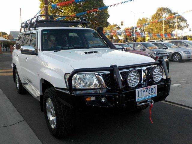 Used Nissan Patrol GU VII ST (4x4) Newtown, 2012 Nissan Patrol GU VII ST (4x4) White 5 Speed Manual Wagon