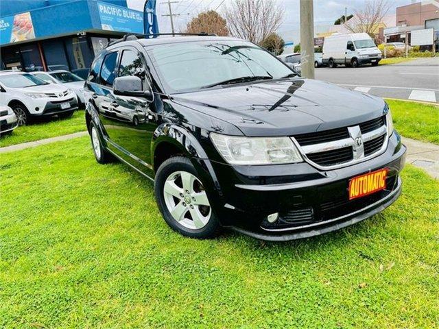 Used Dodge Journey JC MY10 SXT Dandenong, 2010 Dodge Journey JC MY10 SXT Black 6 Speed Automatic Wagon