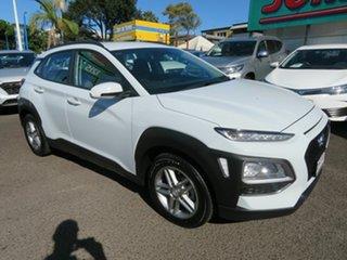 2019 Hyundai Kona OS.2 MY19 Active 2WD White 6 Speed Sports Automatic Wagon.
