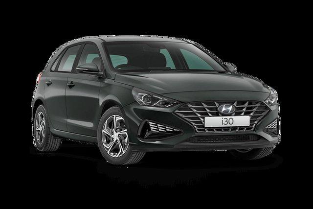 New Hyundai i30 PD.V4 MY21 Hamilton, 2021 Hyundai i30 PD.V4 MY21 Amazon Gray 6 Speed Sports Automatic Hatchback