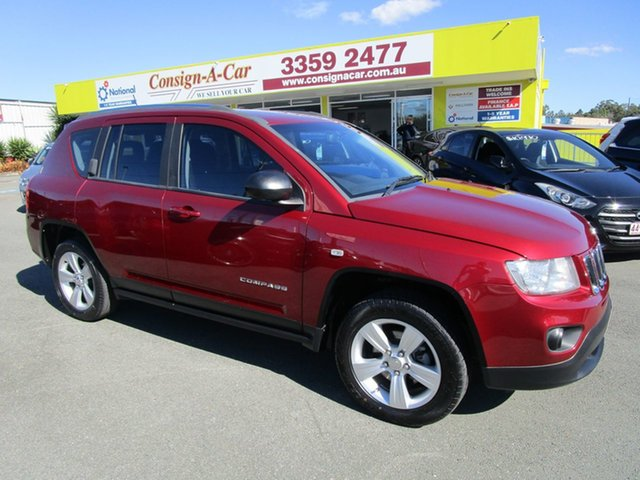 Used Jeep Compass MK MY13 Sport Kedron, 2012 Jeep Compass MK MY13 Sport Red 5 Speed Manual Wagon