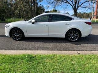 2016 Mazda 6 GJ Series 2 GT White Sports Automatic Sedan
