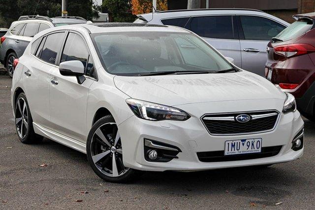 Used Subaru Impreza G5 MY18 2.0i-S CVT AWD Nunawading, 2018 Subaru Impreza G5 MY18 2.0i-S CVT AWD White 7 Speed Constant Variable Hatchback