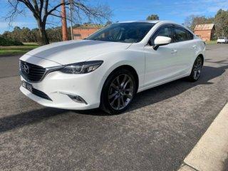2016 Mazda 6 GJ Series 2 GT White Sports Automatic Sedan.
