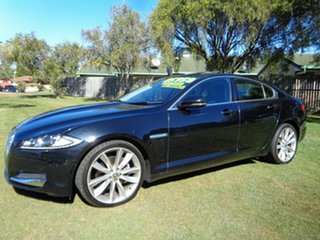 2012 Jaguar XF X250 MY12 Premium Luxury Black 8 Speed Sports Automatic Sedan.