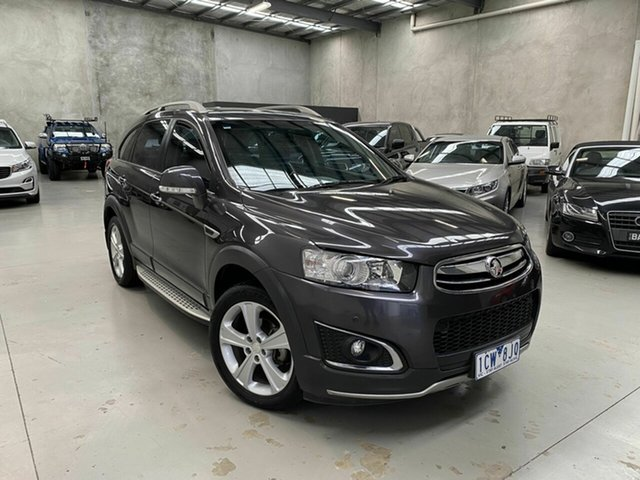 Used Holden Captiva CG MY15 7 AWD LTZ Coburg North, 2014 Holden Captiva CG MY15 7 AWD LTZ Grey 6 Speed Sports Automatic Wagon