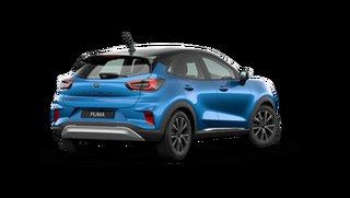 2021 Ford Puma JK 2021.25MY Puma Desert Island Blue / Black Roo 7 Speed Sports Automatic Dual Clutch.