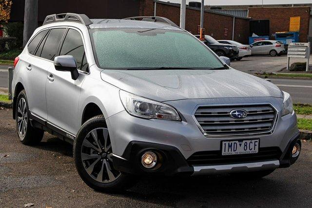 Used Subaru Outback B6A MY17 2.5i CVT AWD Nunawading, 2017 Subaru Outback B6A MY17 2.5i CVT AWD Silver 6 Speed Constant Variable Wagon