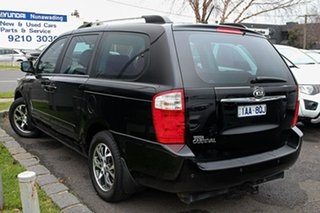 2014 Kia Grand Carnival VQ MY14 SLi Black 6 Speed Sports Automatic Wagon.