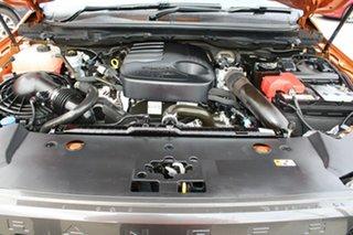 2017 Ford Ranger PX MkII Wildtrak Double Cab Orange 6 Speed Manual Utility