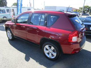 2012 Jeep Compass MK MY13 Sport Red 5 Speed Manual Wagon.