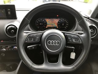 2017 Audi A3 8V MY17 Sportback S Tronic Black 7 Speed Sports Automatic Dual Clutch Hatchback