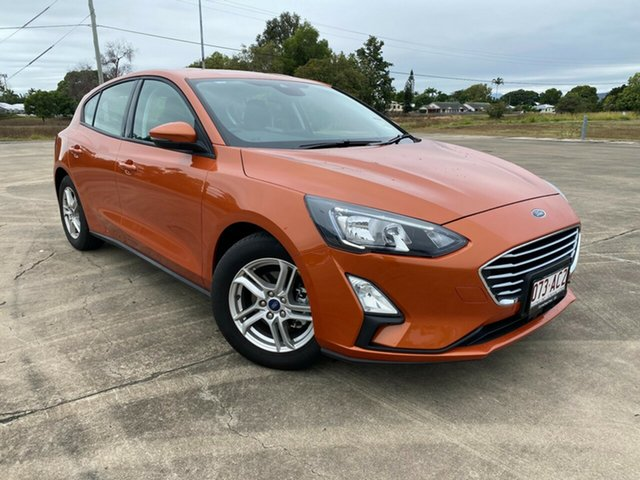 Used Ford Focus SA 2019.75MY Trend Townsville, 2019 Ford Focus SA 2019.75MY Trend Orange Glow 8 Speed Automatic Hatchback