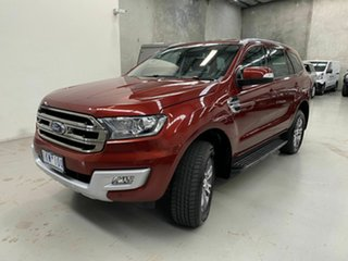 2017 Ford Everest UA 2018.00MY Trend Red 6 Speed Sports Automatic SUV.